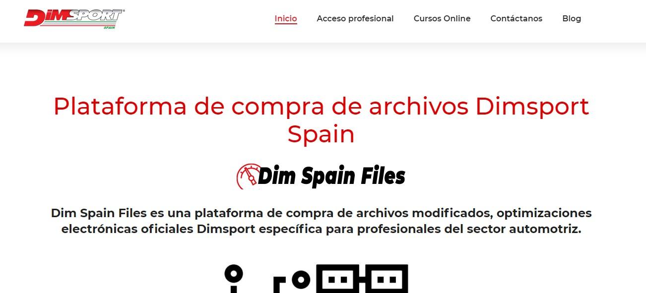 plataforma venta de ficheros para automoción